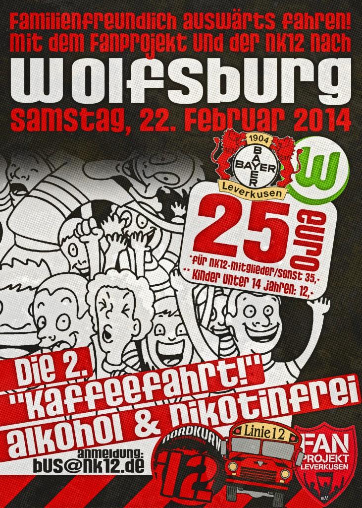 Bus Wolfsburg Kaffefahrt