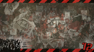 Wallpaper 1366 x 768 Fahnenmeer