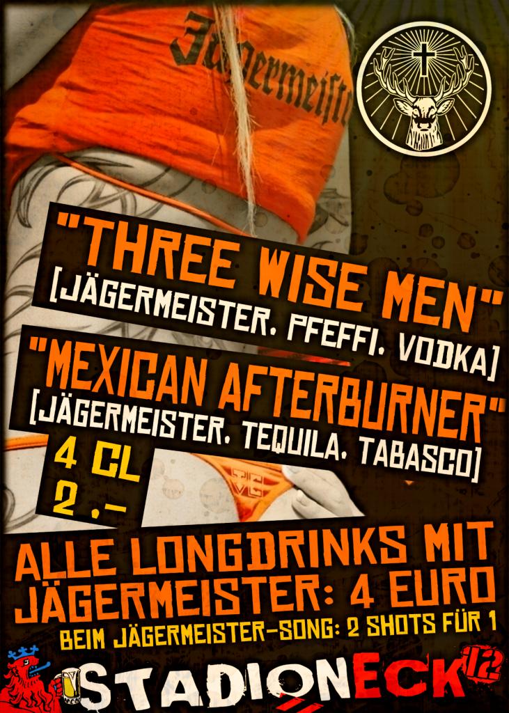 Plakat Jägermister Specials