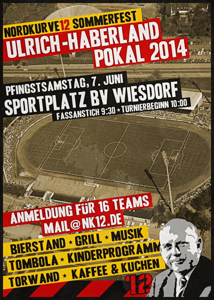 Plakat Haberland Pokal 2014