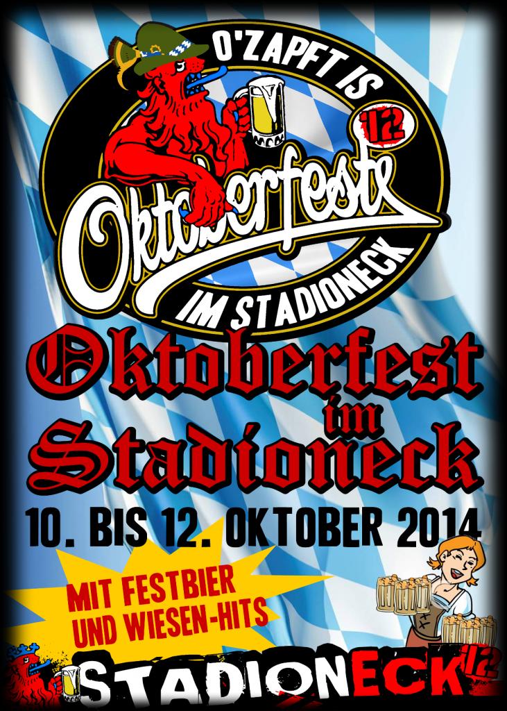 Plakat Oktoberfest 2014