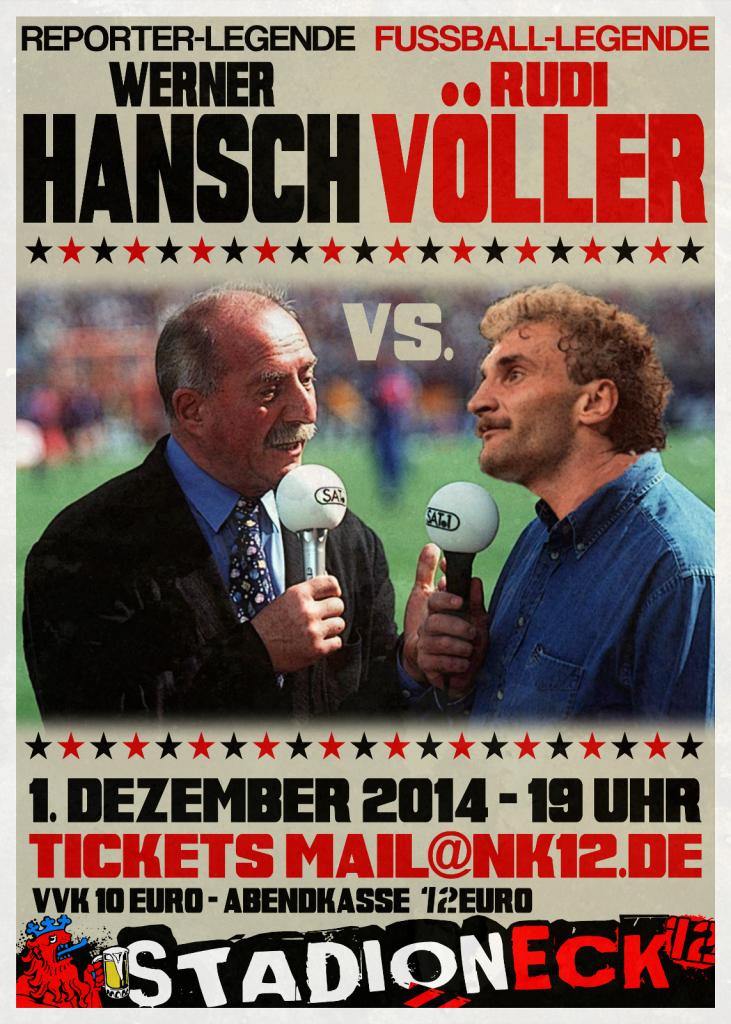 Plakat Hansch Völler