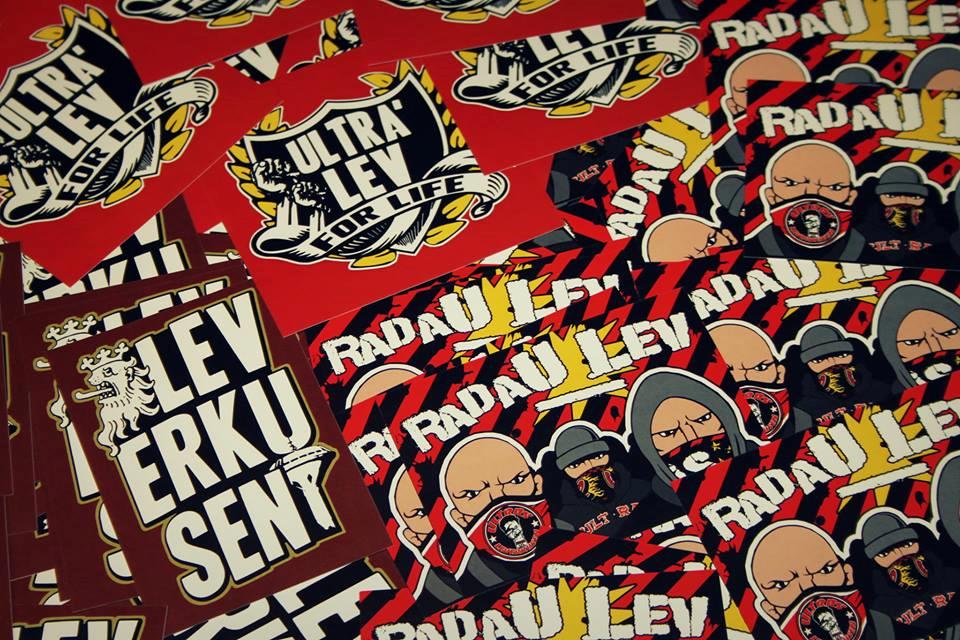 Sticker Radau LEV-ERKU-SEN UL4Life
