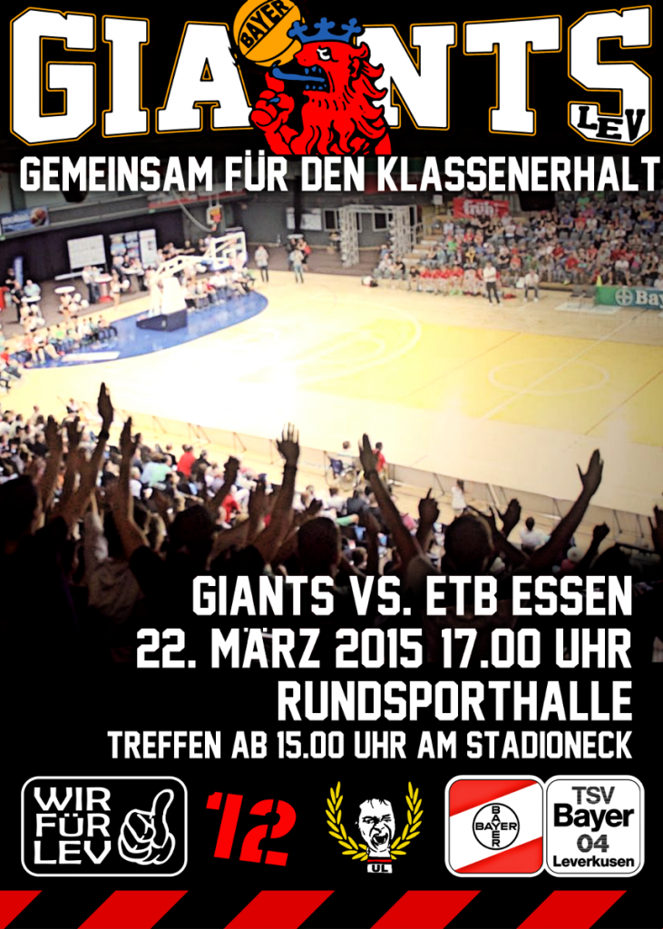Plakat Giants ETB Essen