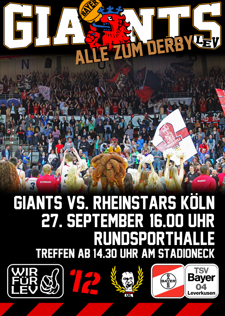 Plakat Giants Köln mittel