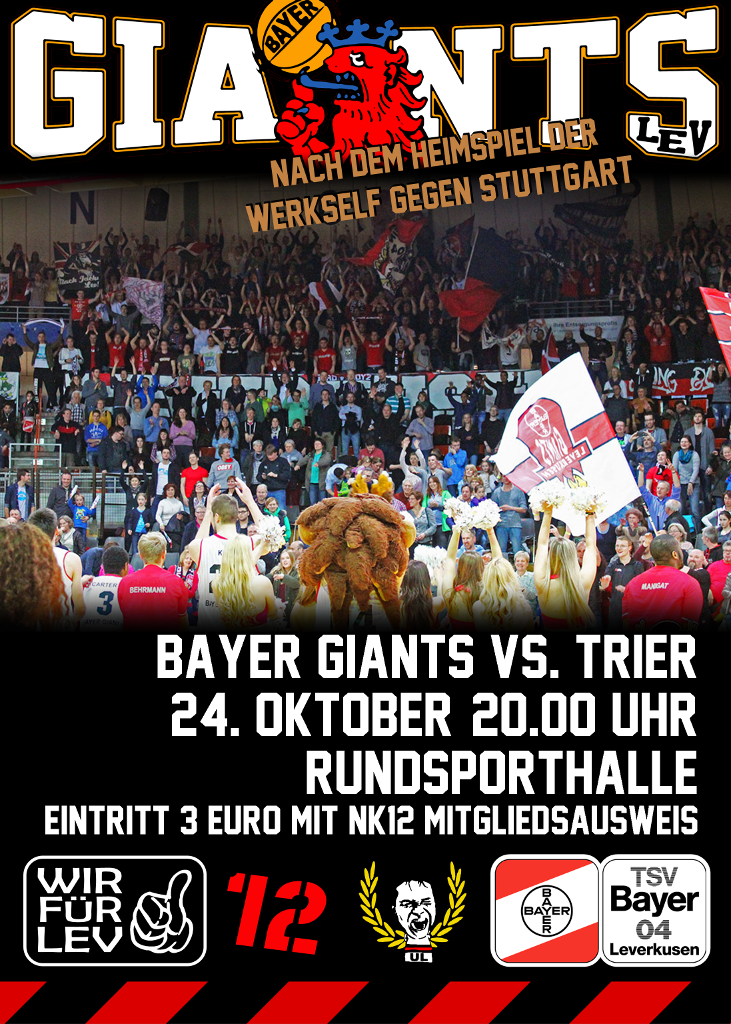 Plakat Giants Trier 731x1024