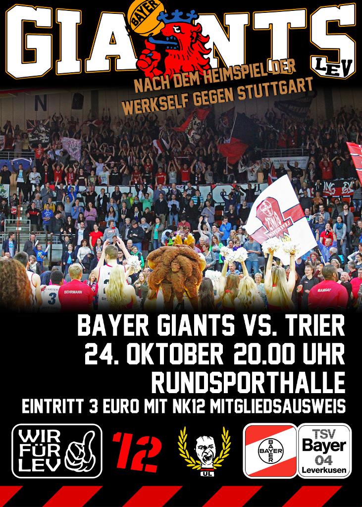 Plakat Giants Trier 731x1024