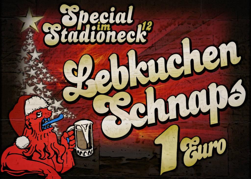 Plakat Lebkuchenschnaps