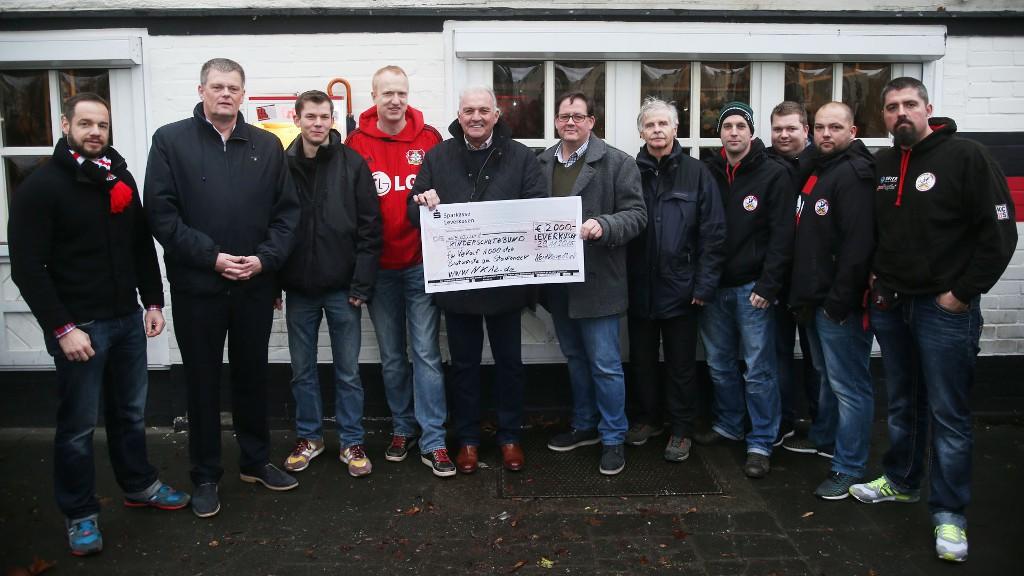 DKSB Leverkusen Spendenübergabe