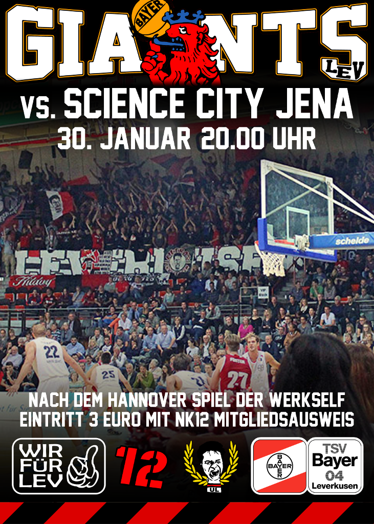 Plakat Giants Jena