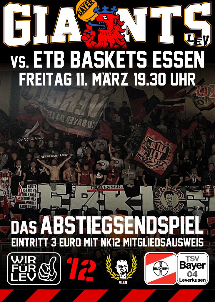 Plakat Giants Essen 731 1024