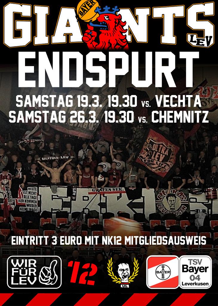 Plakat Giants Vechta Chemnitz 731 1024